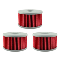 AHL 137 3pcs Oil Filter FOR SUZUKI XF650 Freewind 97 02 S40 DR 650SE DR 600