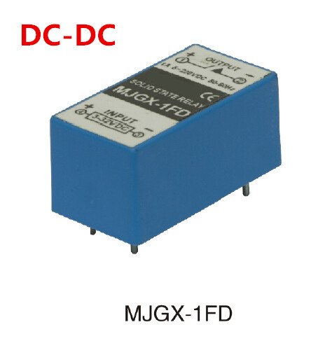 PCB TYPE DC DC solid state relay 1a pcb ssr small type input 3 32vdc