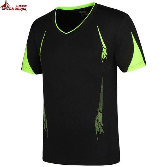 UNCO&BOROR big size 6XL,7XL,8XL,9XL T shirt men brand clothing fashion letter T-shirt male Quick-drying casual Tshirt tops&tees