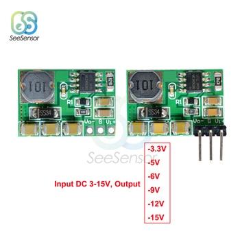 DC-DC +/-Convertidor de Voltaje Positivo a negativo bajar la fuente de alimentación Boost-Buck módulo 3-15V a-3,3 v-5 V-6 V-9 V-12 V-15 V