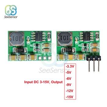 DC-DC +/-Voltage Converter Positieve Negatieve Step Down Voeding Boost-Buck Module 3-15 v-3.3 v-5 V-6 V-9 V-12 V-15 V
