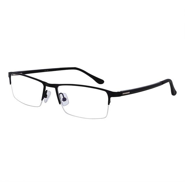 28e59d392 1x وصفة طبية نظارات قصر نظر نصف حافة الاستخدام اليومي المنزل مكتب قصيرة  النظر نظارات-