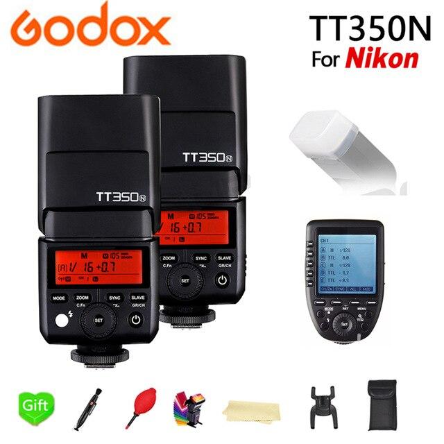 2 pcs Godox Speedlite Flash TT350N Flash TTL HSS+Xpro-N for Nikon D7200 D7000 D5500 D5300 D5200 D5100 D5000 and Other Nikon DSLR2 pcs Godox Speedlite Flash TT350N Flash TTL HSS+Xpro-N for Nikon D7200 D7000 D5500 D5300 D5200 D5100 D5000 and Other Nikon DSLR