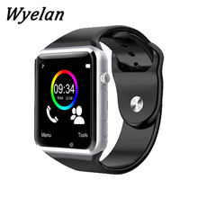 free ePacket shipping WristWatch Bluetooth A1 Smart Watch Sport Pedometer support SIM Camera Smartwatch For Android Smartphone