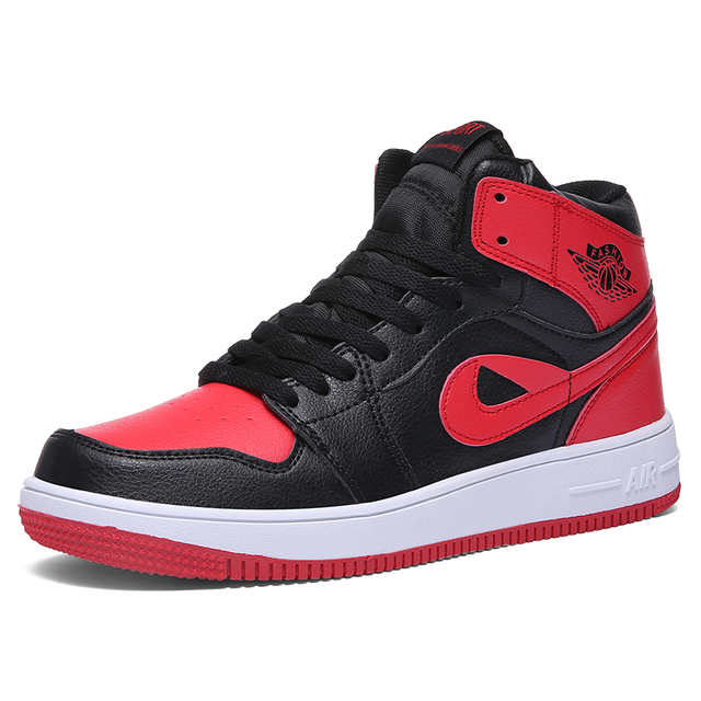 cd0718b8db579 AJ1 Hot Sale Lovers Jordan Shoes 36-45 Men Jordan Basketball Shoes Man Gym  Sneakers for Mens Jordan Antiskid Jogging Sport Shoes