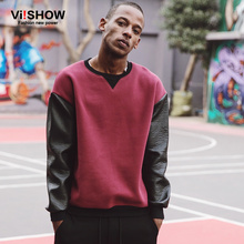 2016 spring new Hoodies European and American street fashion fight skin fashion hedging Hoodies male