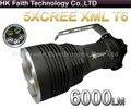 Супер Свет 35 Вт 6000 Люменов CREE XML XM-L T6 5x СВЕТОДИОДНЫЙ Фонарик Факел ИСПОЛЬЗОВАНИЕ 4x18650 Лампа свет