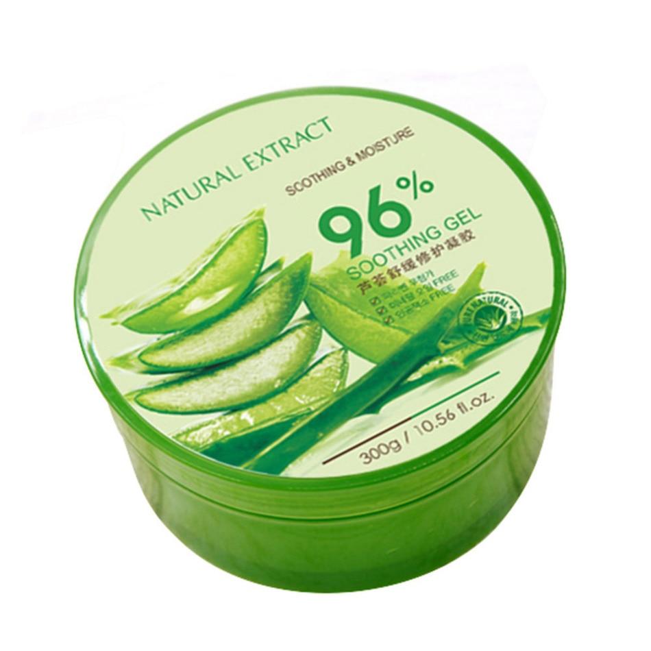 300g 100% Pure Natural Aloe Vera Gel Wrinkle Removal Moisturizing Anti Acne Anti-sensitive Oil-Control Aloe Vera Sunscreen Cream