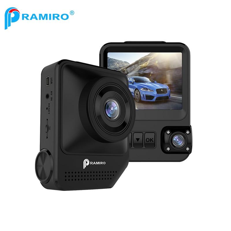 Pramiro 2.3 pulgadas lente dual DVR Cámara del coche Novatek 96658 Sony 323 sensor Cámara registrator coche T818 con WDR Drive grabadora