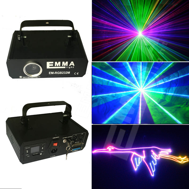 Mini lazer Projector DJ Disco Light Stage R & G Party Laser ...