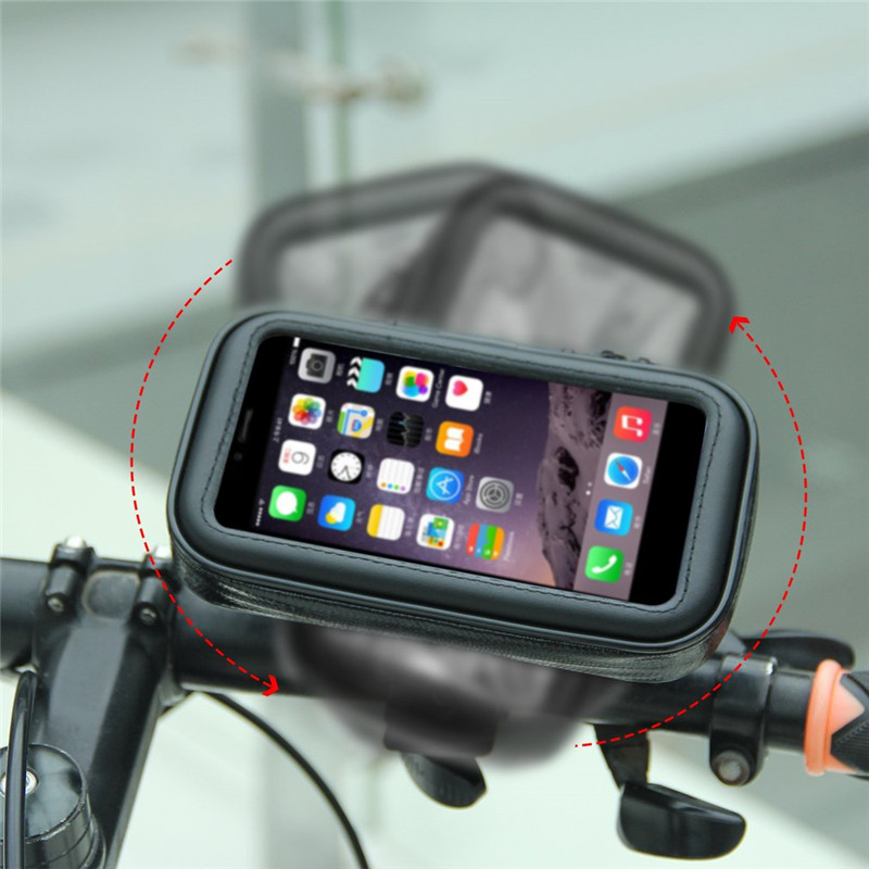 Bicycle Motorcycle Phone Holder Mobile Stand Support For iPh