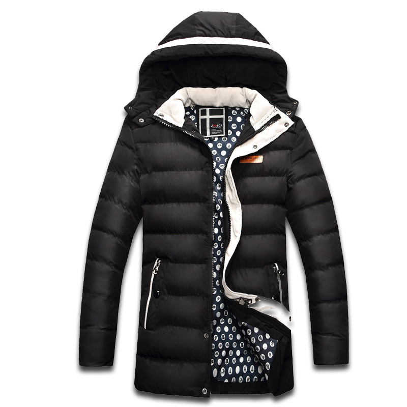 Men Thick Warm Coats Winter Snow Hooded Collar Slim Fit Parka Brand Casual Cotton Padded Jackets Jaqueta Masculina SL-E442 цены онлайн
