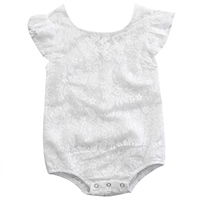 PUDCOCO Zipper Newborn Toddler Infant Baby Girl Bodysuit Sleeveless White Floral Summer Casual Outfit New Drop Shipping 0-18M