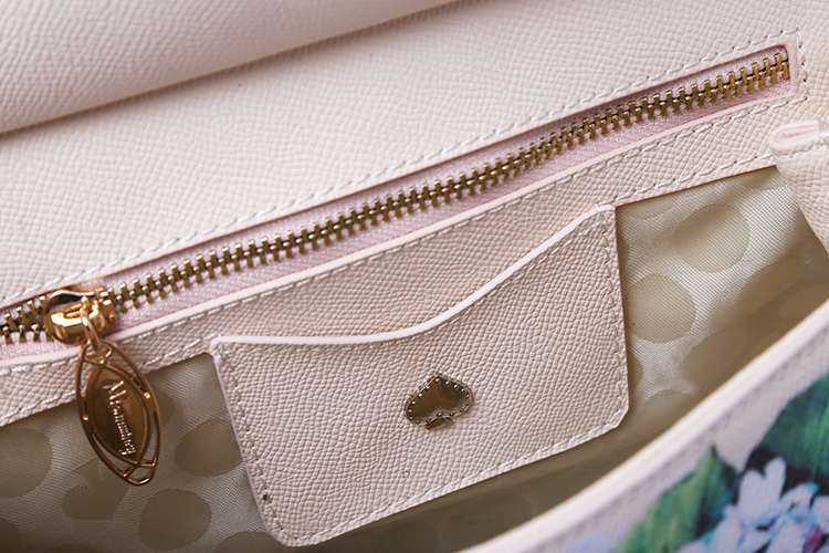 Luxury Designer Inspired Women Handbag Real Leather Embellishments Hydrangea Printed Mini Leather Shoulder Bag (11)