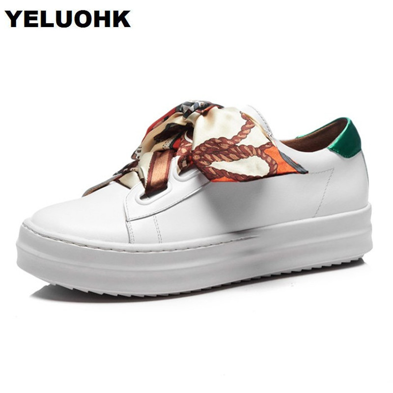 Brand New Spring Shoes Woman Genuine Leather Fashion Lace Up Women Flat Shoes Casual Platform Shoes Women brand new spring shoes woman genuine leather fashion lace up women flat shoes casual platform shoes women