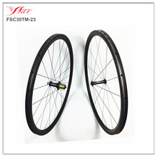 Extralite Cyber hubs + Sapim aero spokes , Far Sports carbon road wheelset 30mm 38mm 50mm for choices with super light  !