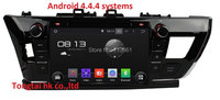 9 Pure Android 4 4 4 Fit For Toyota Corolla 2014 Car Dvd Gps Navi 3G