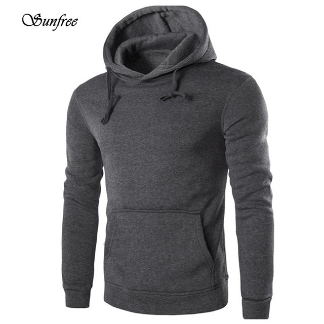 Sunfree 2016 New Hot Sale Men Retro Long Sleeve Hoodie Hooded Sweatshirt Tops Jacket Coat Outwear Brand New High Quality Dec 1