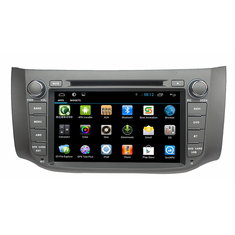 for touch screen android 6 0 car navigation for nissan. Black Bedroom Furniture Sets. Home Design Ideas