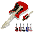 Instrumentos de metal Guitarra Elétrica Usb flash memory stick de 2 GB 4 GB 8 GB 16 GB 32 GB 64 GB de disco Usb flash drive Linda Guitarra Pen drive