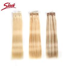 洗練されたダブル描かストレートの髪 P6/613 ブロンド P27/613 のブラジル人毛バンドル 1 ピースのみレミー延長送料無料