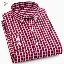 Aoliwen 2019 men palid long sleeve shirt casual autumn spring high street style slim fit quality no pocket