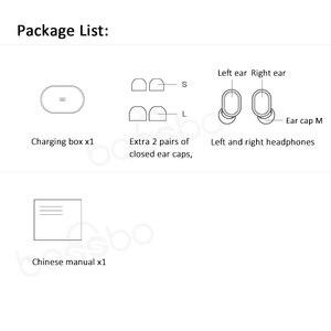 Image 5 - Xiaomi Redmi Airdots TWS Bluetooth אוזניות סטריאו אלחוטי אוזניות עם מיקרופון דיבורית Xiaomi אוזניות שליטת AI