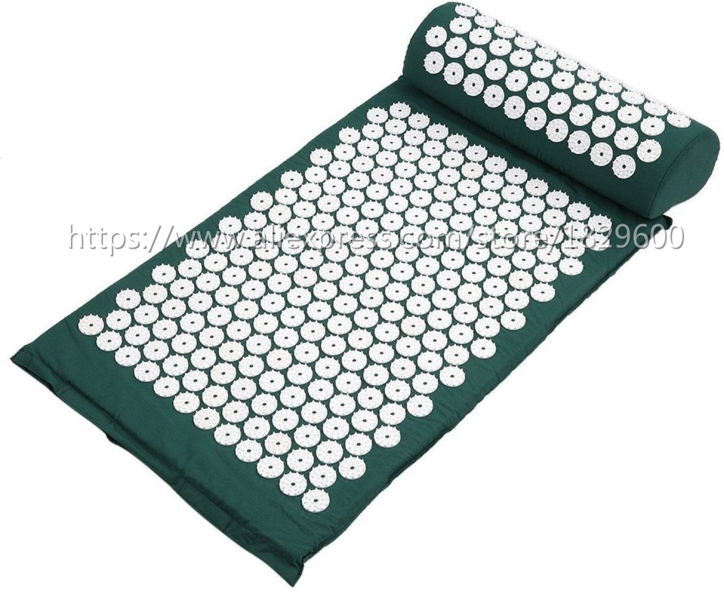 Dropshipping Acupressure Massager Mat Relieve Stress Pain Yoga Mat Natural Relief Stress Tension Body Massage Pillow Cushion