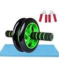 Estimulador muscular Abdominal roda Abdominal Dispositivo de treinamento de Fitness máquina De emagrecimento Casa super mudo presente de Natal