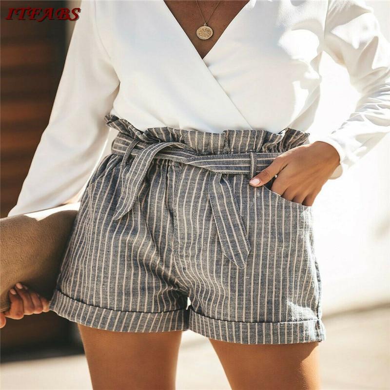 Blusas Mujer De Moda 2019 Women Casual Cotton Running Shorts Jogging Anti-lighting Hot Shorts Vestidos Mujer