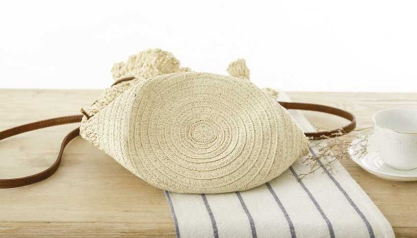 Новый вязаный тканый мешок ветряная соломенная вязаный рюкзак небольшой емкости Женская дорожная и пляжная сумка для отдыха