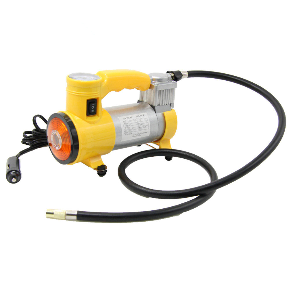 Portable Air Compressor Heavy Duty 12V 150 PSI Pump Tire Inflator Car Tool Inflatable Pump for