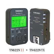 YONGNUO YN622N II YN622N-TX I-TLL Беспроводной запуска вспышки трансивер для Nikon Камера для YONGNUO YN565 YN568 flash
