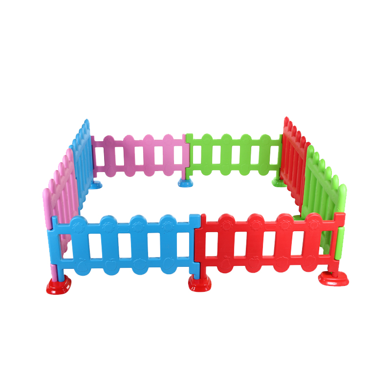 Children's Play Fence Indoor And Outdoor Small Fence Baby Plastic Crawling Toddler Safety Fence Game Bar
