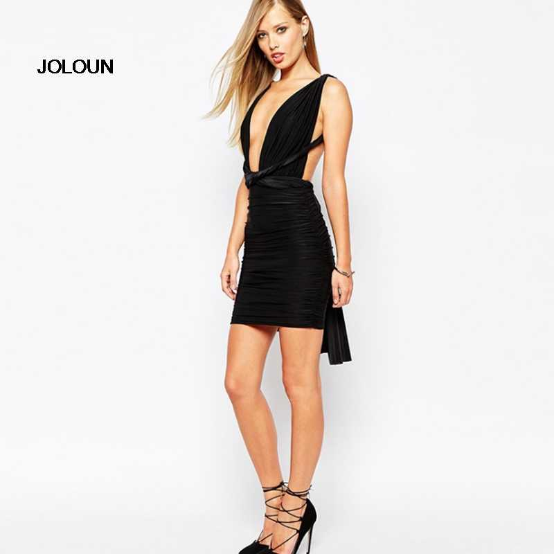 435f173fc9af DIY Womens Convertible Multi Way Dress Evening Party Dresses Sexy Club Mini  Bodycon Bandage Black Red