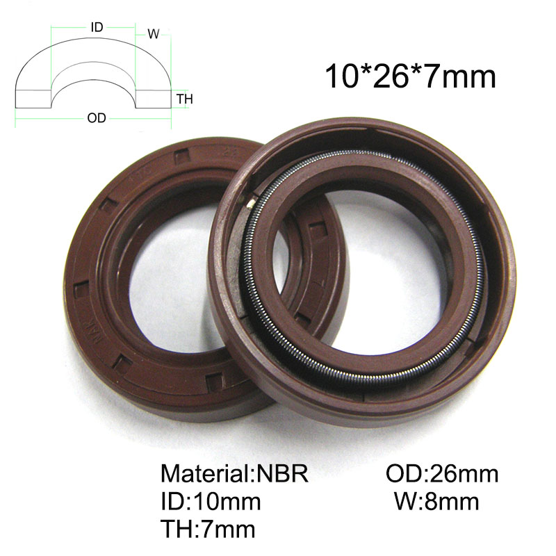 height, model pack Rotary shaft oil seal 24 x 40 x