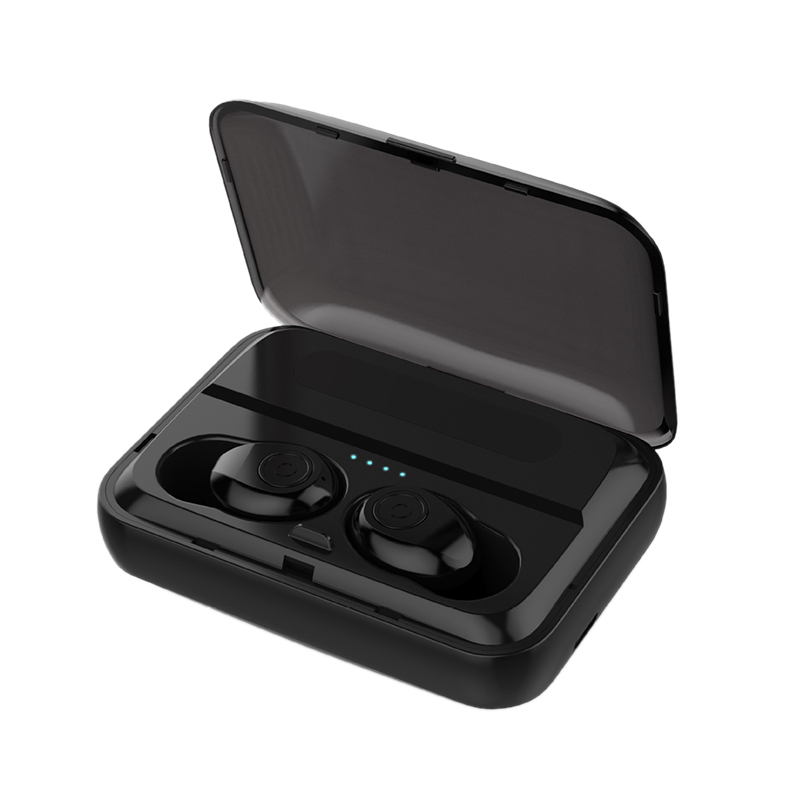 Waterproof Wireless Bluetooth Earphones Headset,F9 Tws Mini True Wireless Bluetooth 5.0 Earbuds Earphone In-Ear Noise Reductio