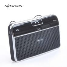 Беспроводной multipoint bluetooth hands free Car Kit A2dp с автомобиля Зарядное устройство поддерживает GPS аудио Bluetooth смартфон Автомобильный sperkerphone