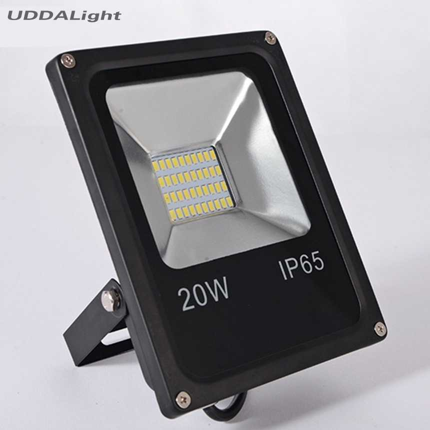 12v floodlight 20w ip65 smd led black hot