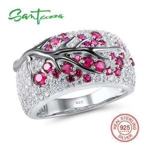 792f26f67 SANTUZZA Ring for Women Stone 925 Sterling Silver Jewelry