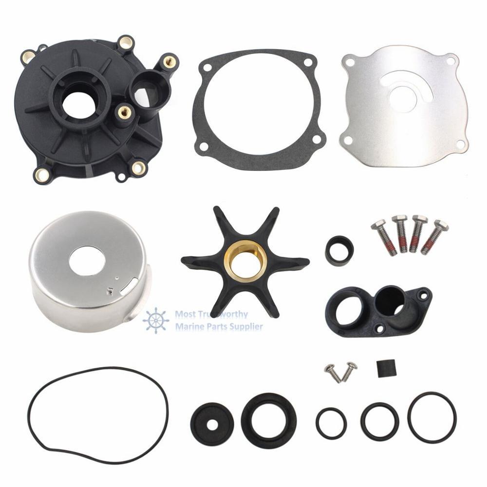 Water Pump Impeller Repair/Rebuild Kit For 85-300 Hp Johnson Evinrude 395062
