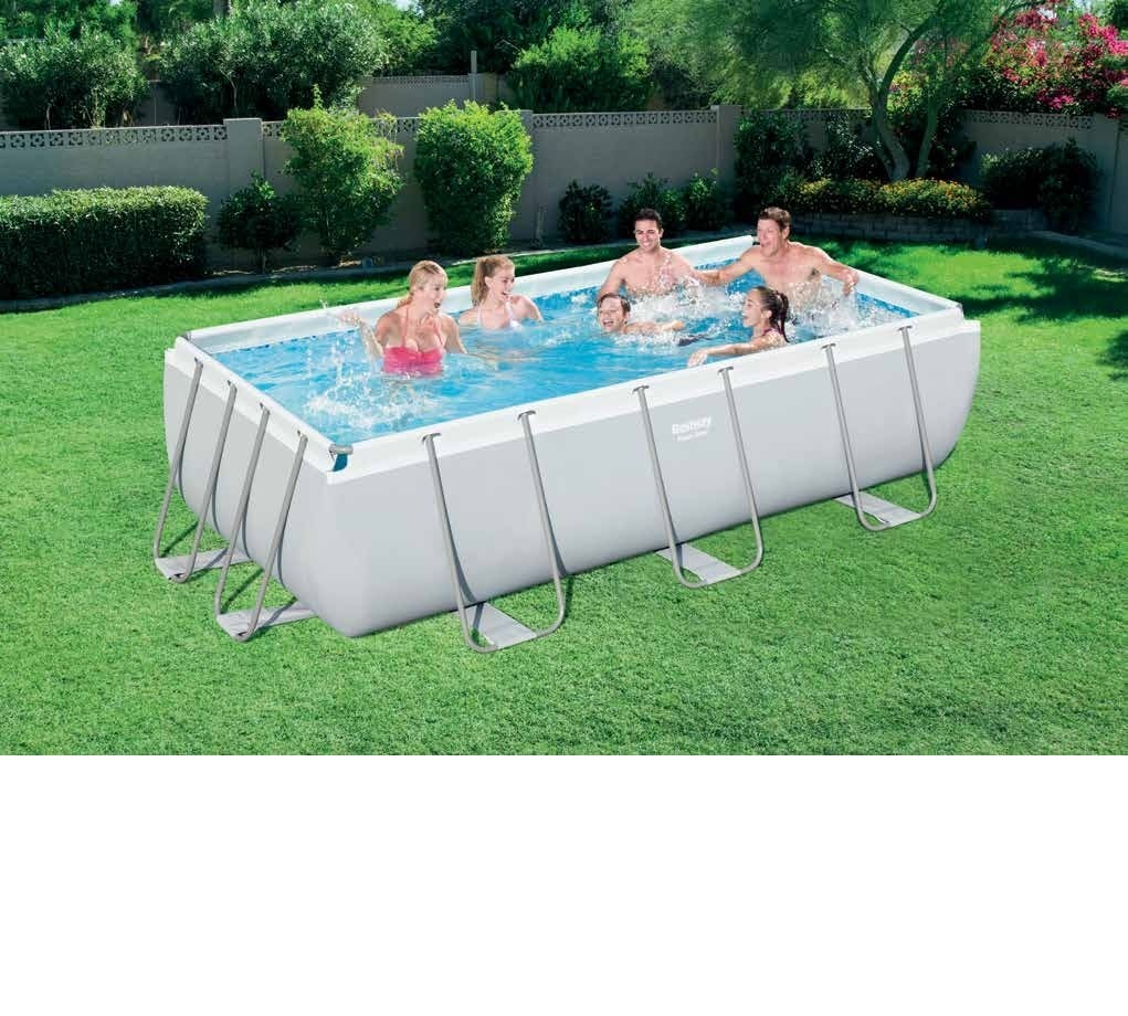 Sandfilter Pool Anleitung Bestway Us 399 56442 Bestway 404 201 100cm Rectangular Super Strong Steel Tube Framing Pool Above Ground Swimming Pool With Sand Filter Ladder In Pool