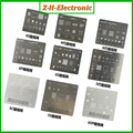 9pcs/lot BGA Reballing KIT Solder Template Stencil BGA IC Chipset for Iphone 4 4s 5 5s 5c 6g 6Plus 6S 6splus