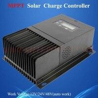 12/24/48v auto work mppt solar controller