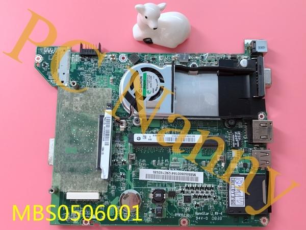 31zg5mb0010 madre del ordenador portátil para acer aspire a150 zg5 da0zg5mb8g0 mbs0506001 ddr2 probó