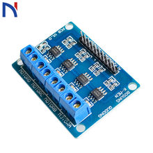 12V L9110S H-bridge 4Bit DC Stepper Motor Driver Module DC 2.5-12V 4 Channel L9110S Motor Driver IC for Arduino Stepper Motor(China)
