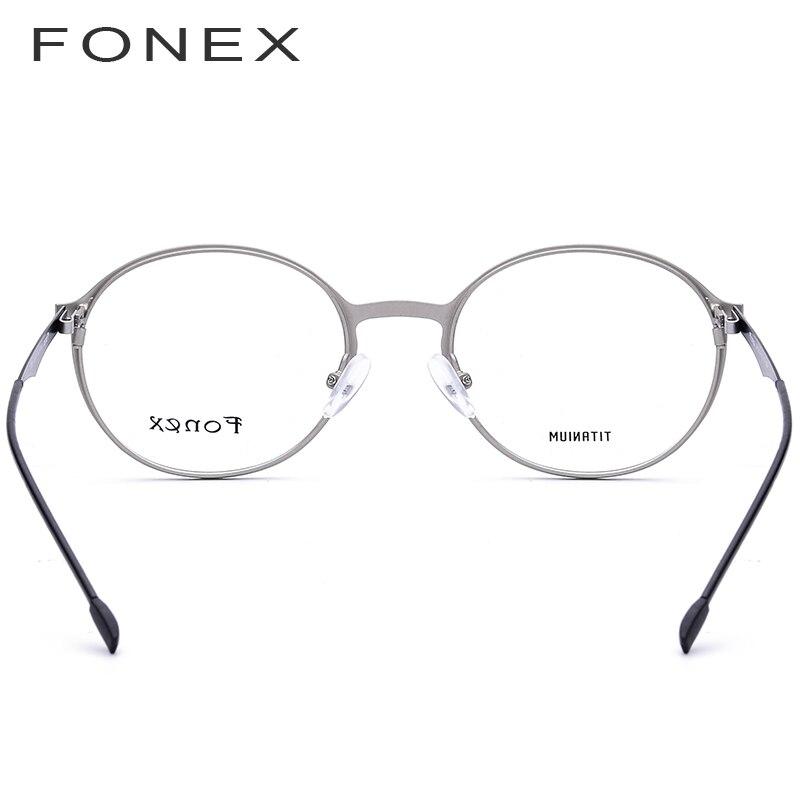 ac47ab6221 De titanio gafas hombres ultraligero TR90 gafas de prescripción 2018 mujeres  miopía marco óptico de gafas