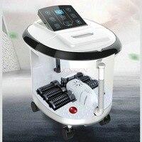 Feet Tub Full Automatic Massager Heating Household Plantar Clean Wash Basin Electric Foot Bath Barrel Leg Massage Machine
