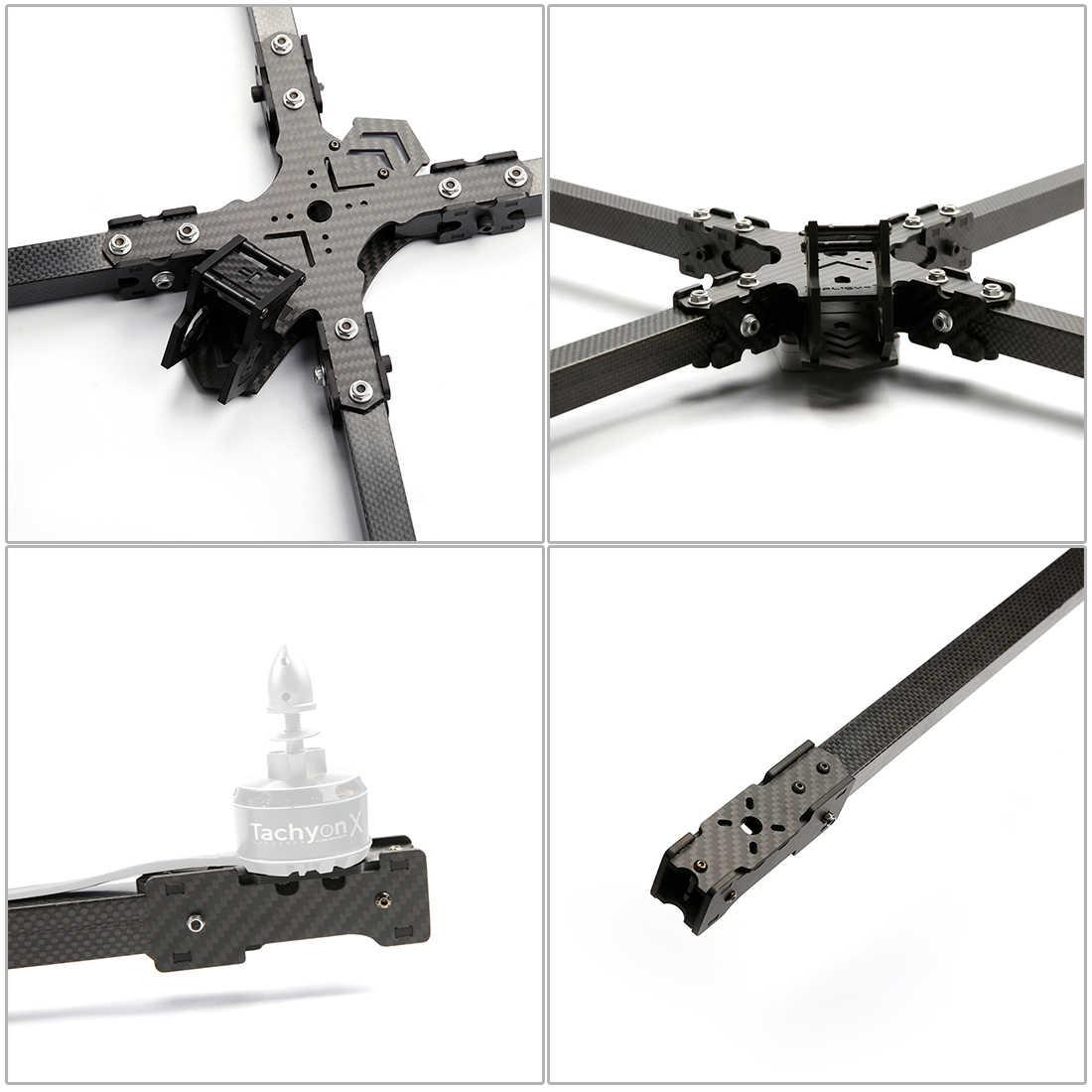 IFlight iXC15 Yarış Çerçeve 15 inç 950mm Gerçek 3K Karbon Fiber çerçeve kiti için Tachyon X4114 660KV Motor FPV Yarış Drone