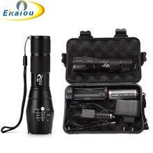Hot XML T6 5000 Lumens LED Tactical Torch Waterproof Handhel
